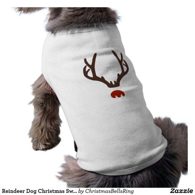 Reindeer Dog Christmas Sweater