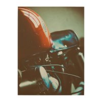 Motorcycle Wood Wall Art & Wood Photo Prints | Zazzle.co.uk