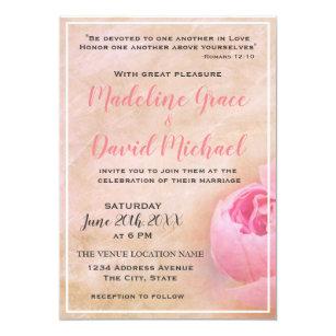 scripture wedding invitations zazzle