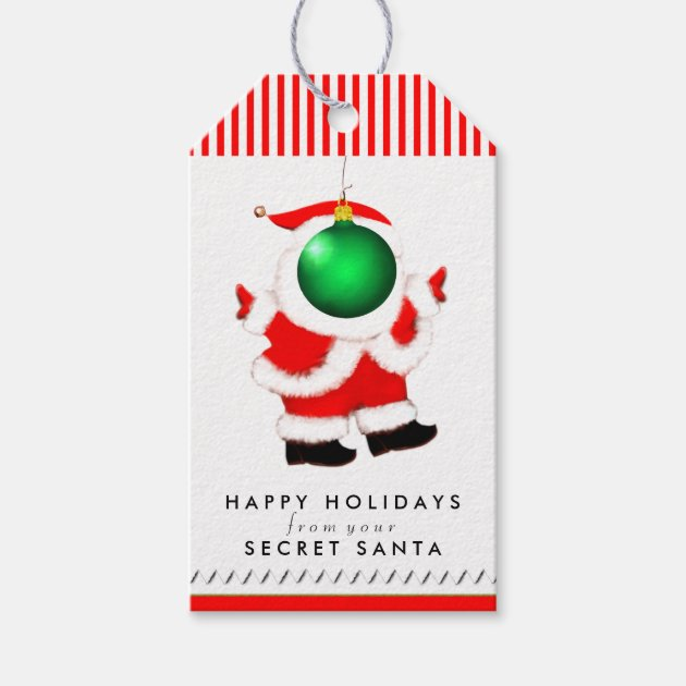 Secret Santa Message Zazzle