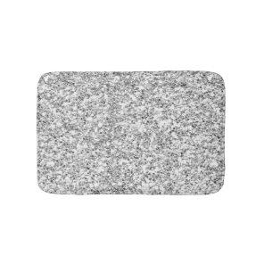 Silver Glitter Printed Bath Mat