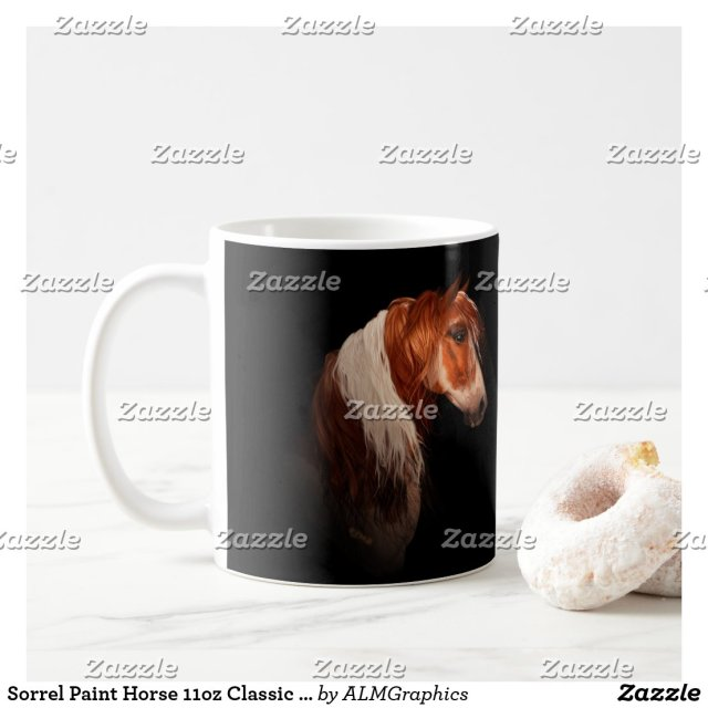 Sorrel Paint Horse 11oz Classic Mug