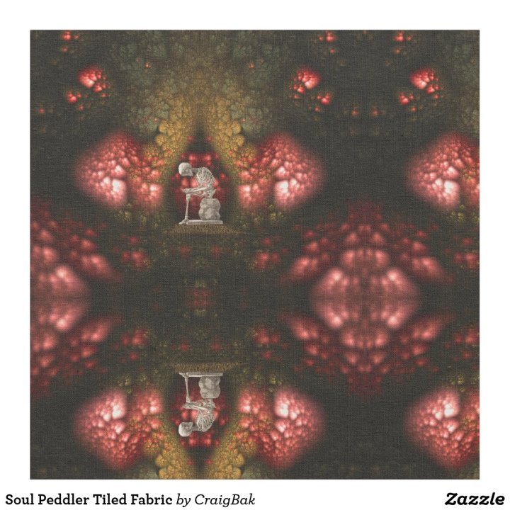 Soul Peddler Tiled Fabric