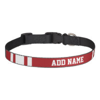 Sports Jersey with Your Name and Number Dog Collar