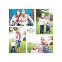 Custom Family Canvas Print