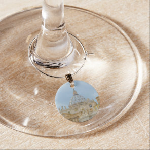 St. Peters Basilica Vatican in Rome Italy Wine Charm