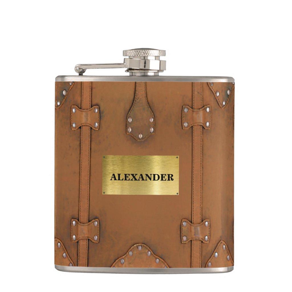 Steampunk-Vintage Leather Look Case