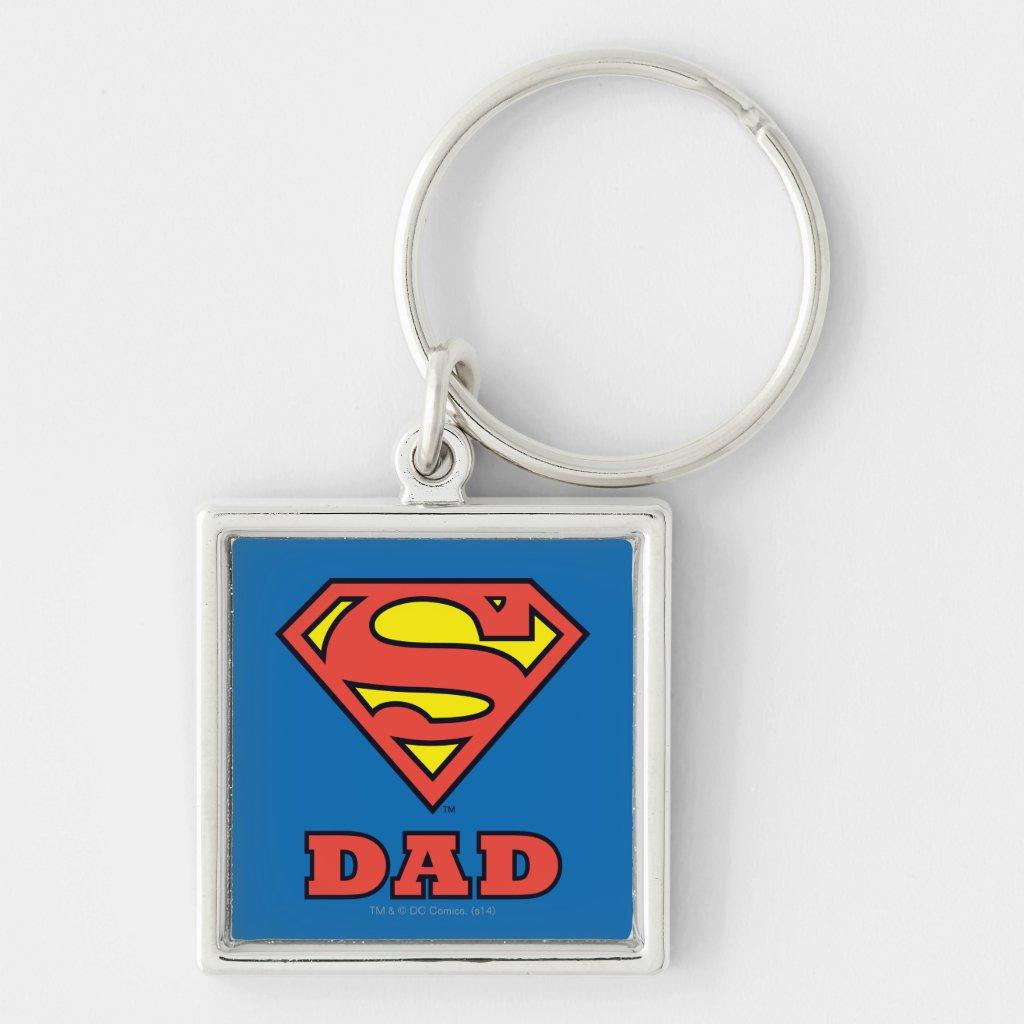 Super Dad Keyring