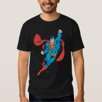 Superman Right Fist Raised Tshirt