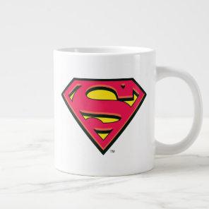 Superman S-Shield | Classic Logo Large Coffee Mug