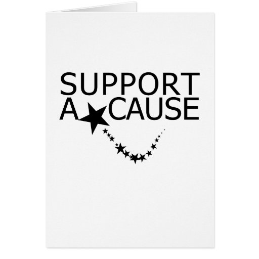 Support The Cause Cards Photo Card Templates Invitations