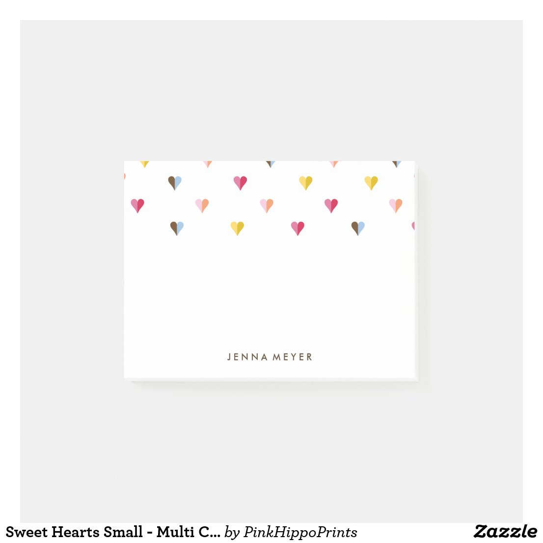 Sweet Hearts Small - Multi Coloured