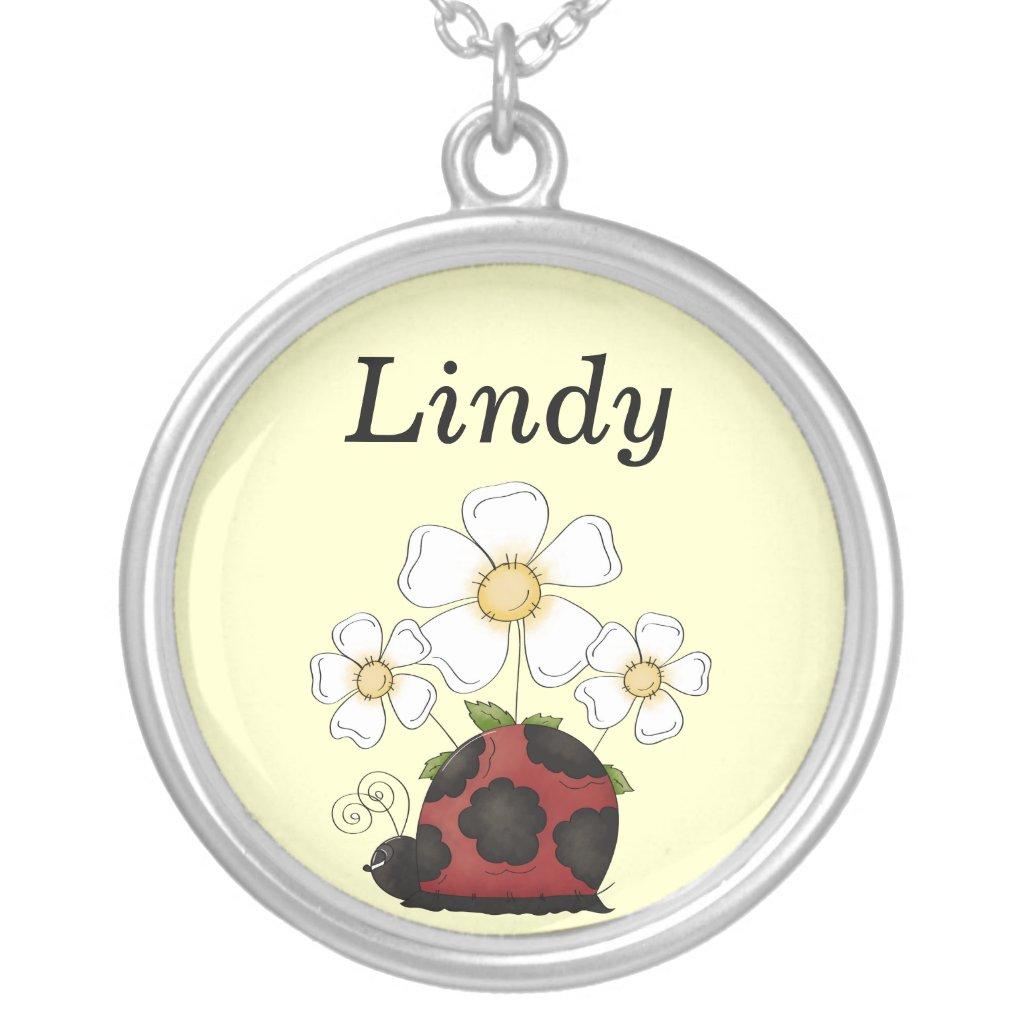 Sweet Little Ladybug Necklace