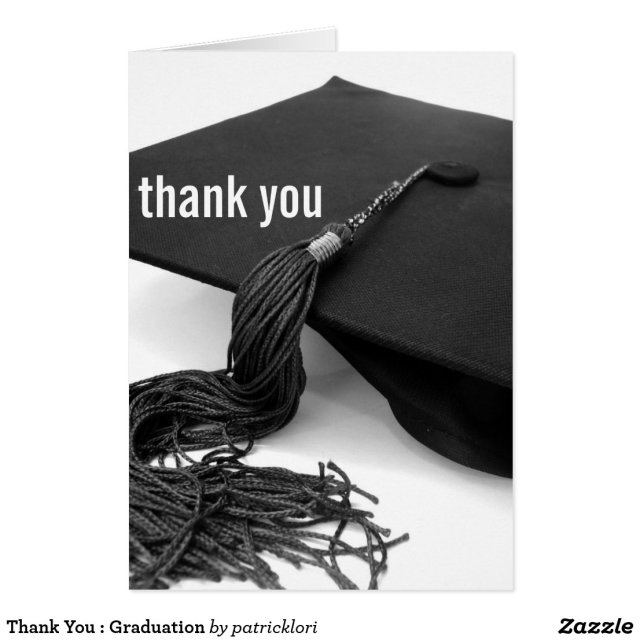 Thank You Graduation Card