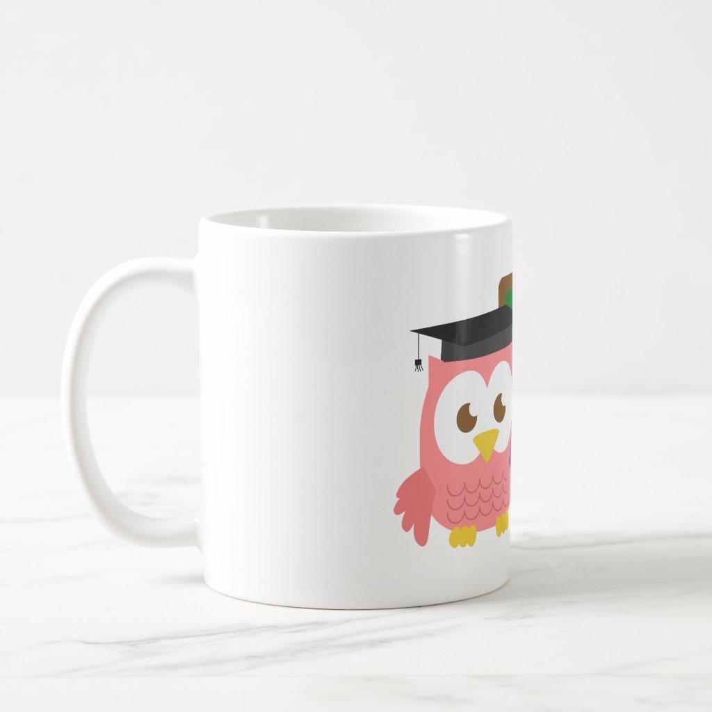 Thank you, Teacher Appreciation Day, Cute Pink Owl