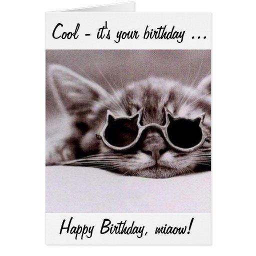 Grumpy Cat Birthday Wishes