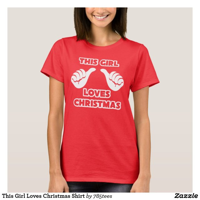 This Girl Loves Christmas Shirt