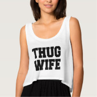 Thug Wife Crop Top