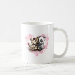 Tiger and Panda Coffee Mug