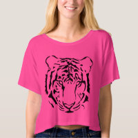 Tiger Crop Top