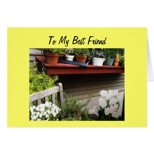 TO MY BEST FRIEND ON YOUR 50TH BIRTHDAY Zazzle