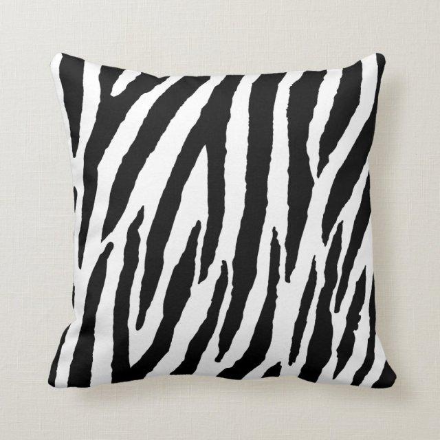 Zebra Pattern Cushion