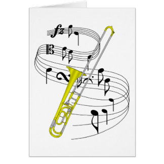 Trombone Cards, Photo Card Templates, Invitations & More