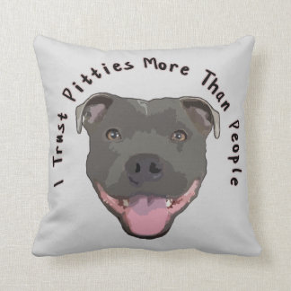 Custom Pitbull Throw Cushions  Zazzlecouk