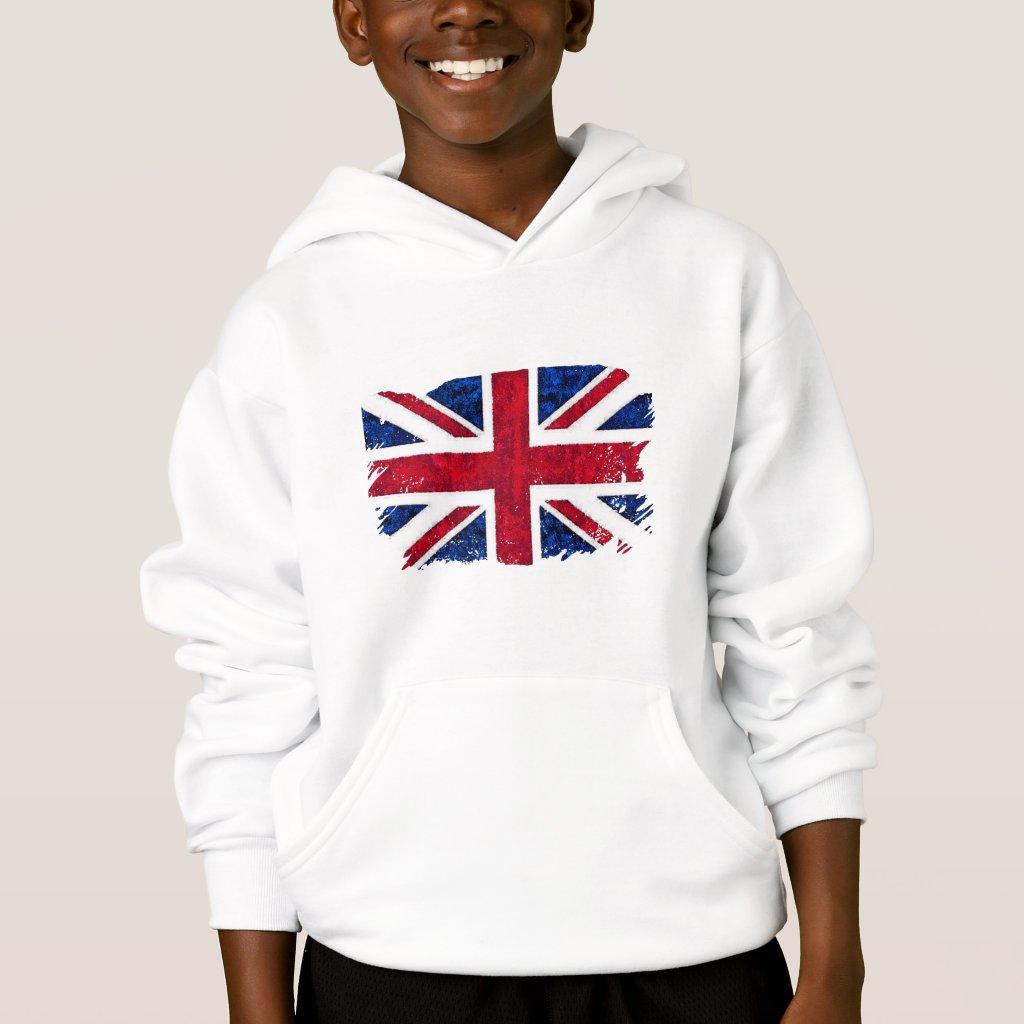 UK FLAG HOODIE