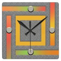 Ultra Modern Contemporary Wall Clock | Zazzle.co.uk