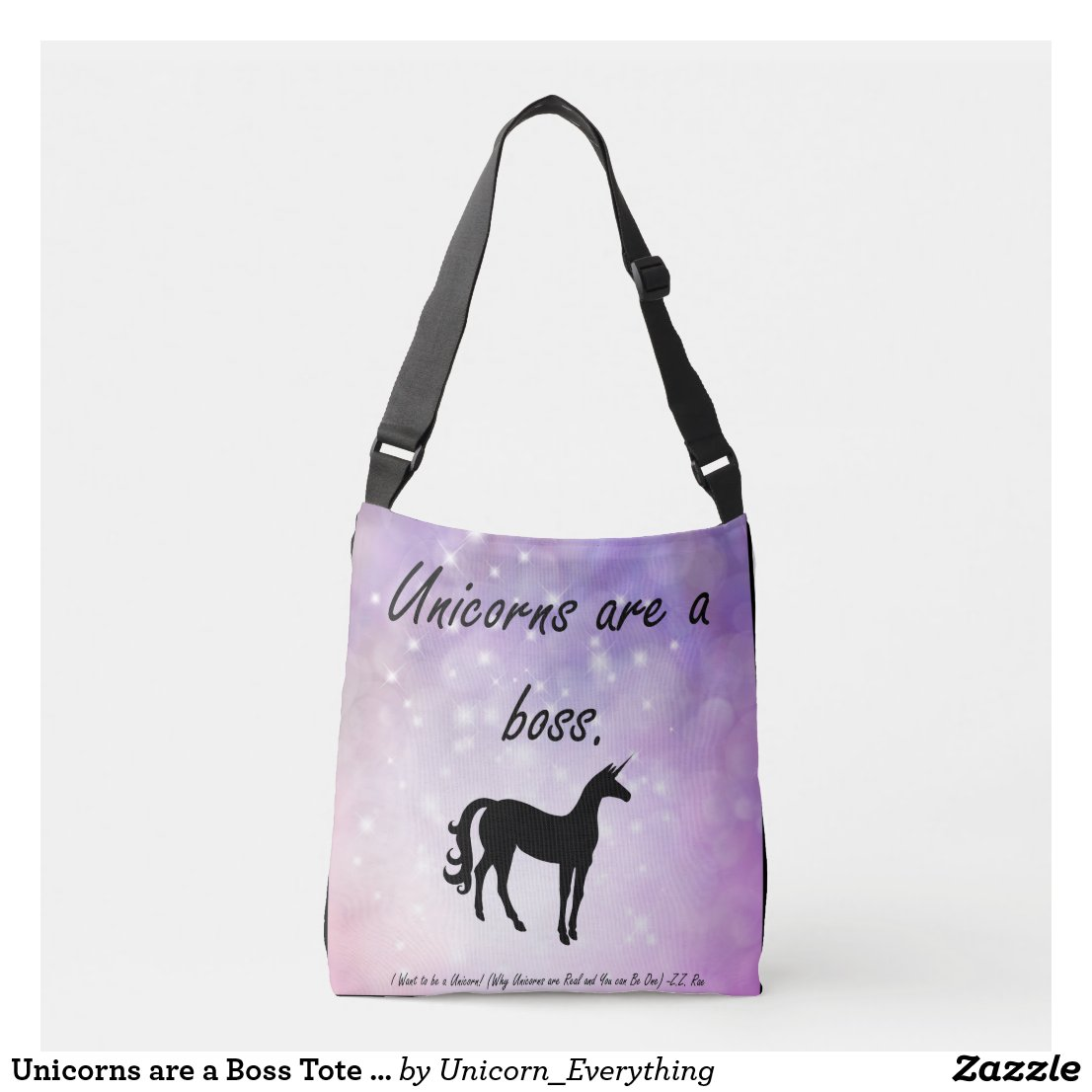 Unicorns are a Boss Tote bag