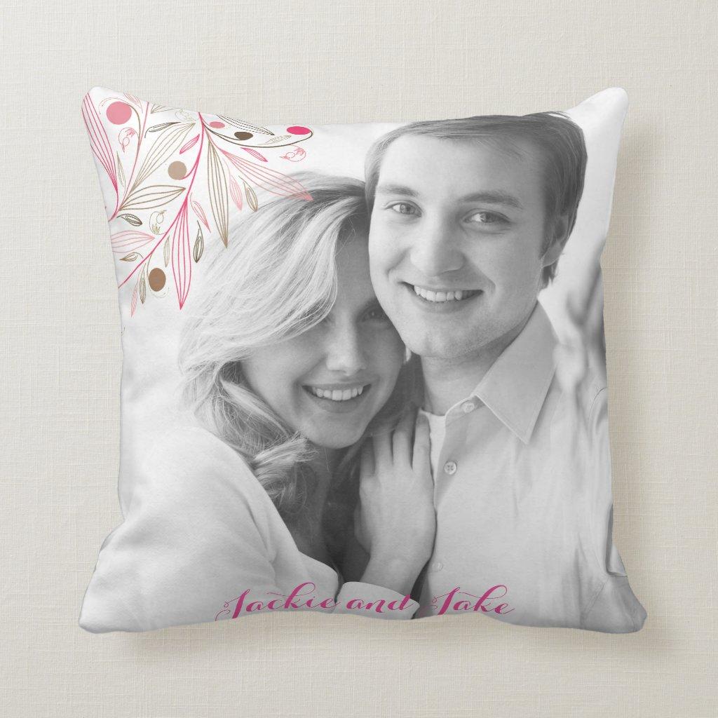 Valentine couple cushion