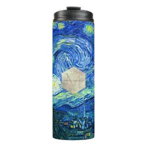 Van Gogh Starry Night Thermal Tumbler