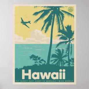 vintage hawaii posters prints zazzle uk