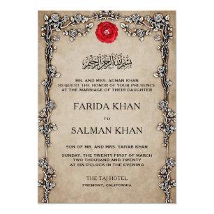 islamic wedding invitations wedding