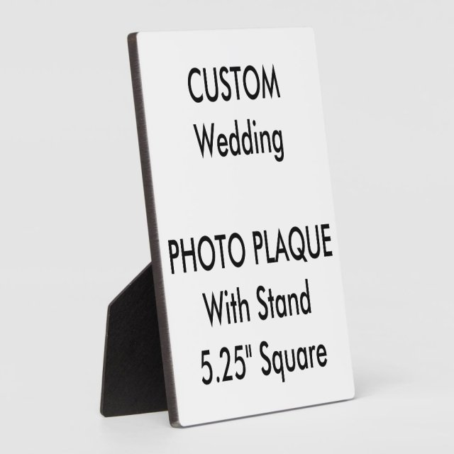 Wedding Custom Photo Plaque 5.25