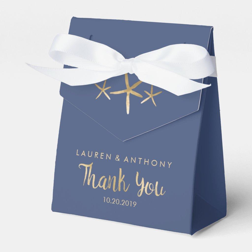 Wedding Thank You Favour Box