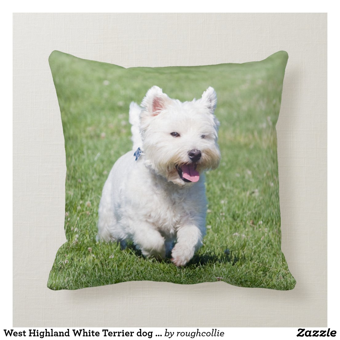 West Highland White Terrier Cushion