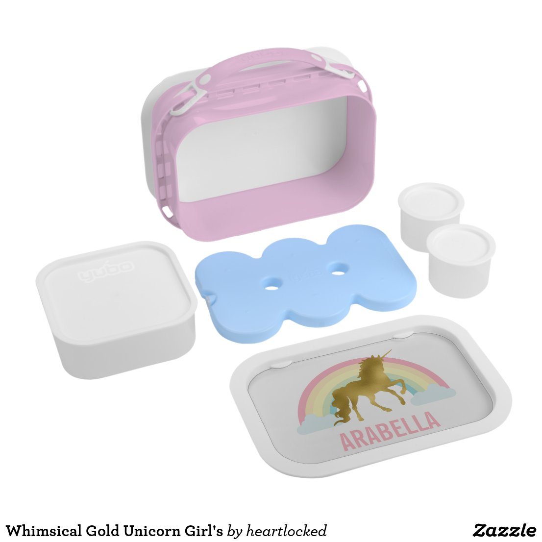Unicorn Girl's Lunch Box