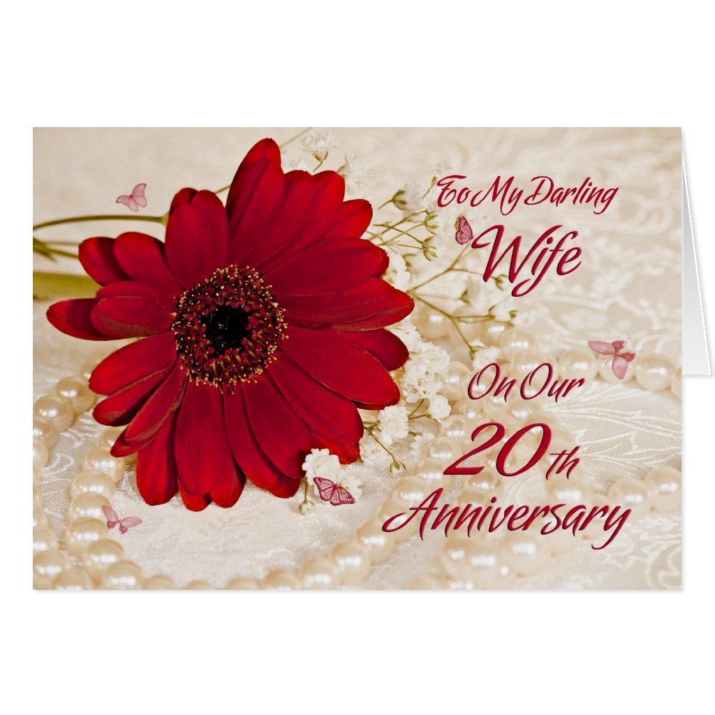 20 Year Wedding Anniversary Gift For Wife: 20th Wedding Anniversary