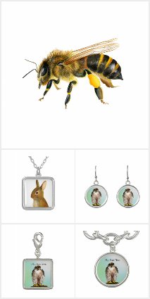 Wildlife Watercolor Jewelry Gifts