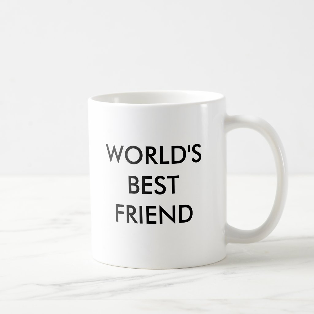 WORLD'S BEST FRIEND MUG
