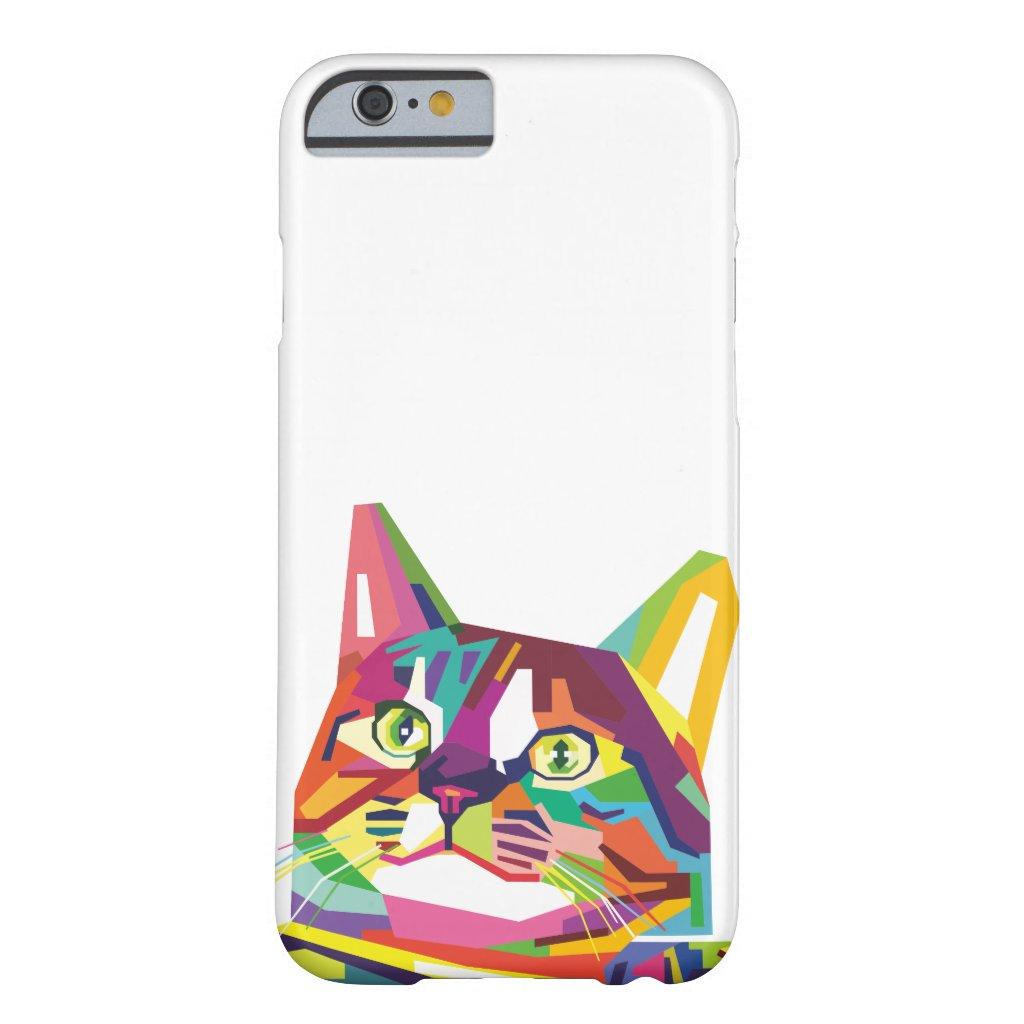 WPAP Cat iPhone Case