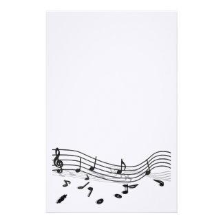 Music Custom Stationery, Music Stationery Templates