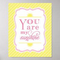 You Are My Sunshine Nursery Decor