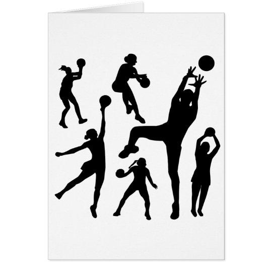 10097-netball-silhouette-vector SPORTS NET BALL PE