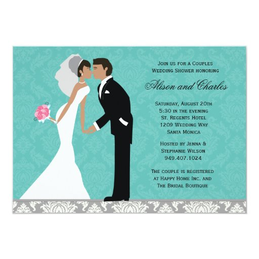 Unique African American Wedding Invitations