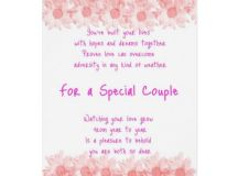 Anniversary Special Couple Original Poetry Card | Zazzle