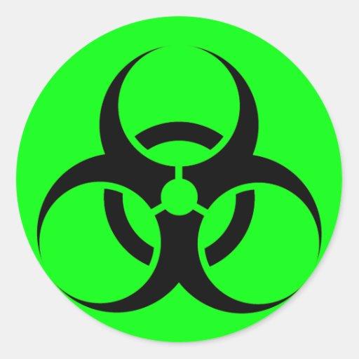 Toxic Biohazard Waste Symbol