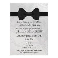 Black Tie Affair Invitations - Erieairfair